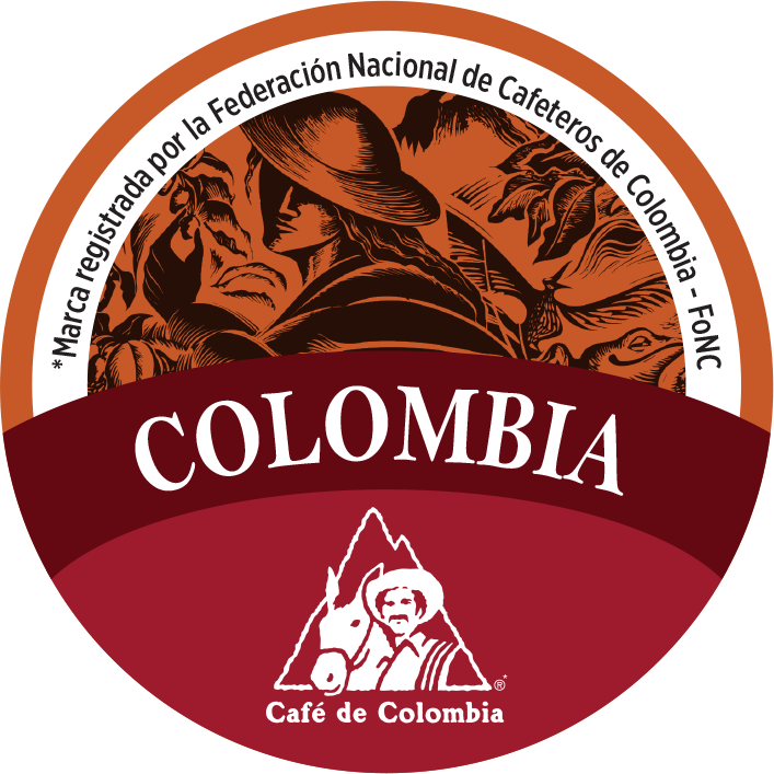 Pegatina Greatest Coffee Colombia