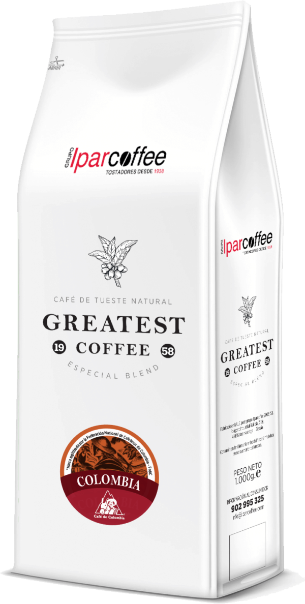 Paquete de Greatest Coffee Colombia