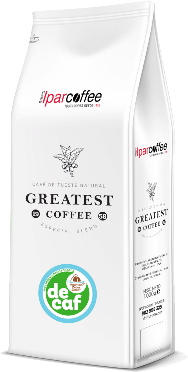 Paquete de Greatest Coffee Descafeinado